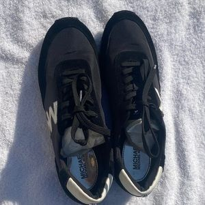 Michael Kors black and white shoes , used